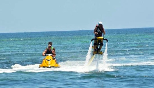 Enjoy Jet Bike In Nusa Dua, Bali, Indonesia