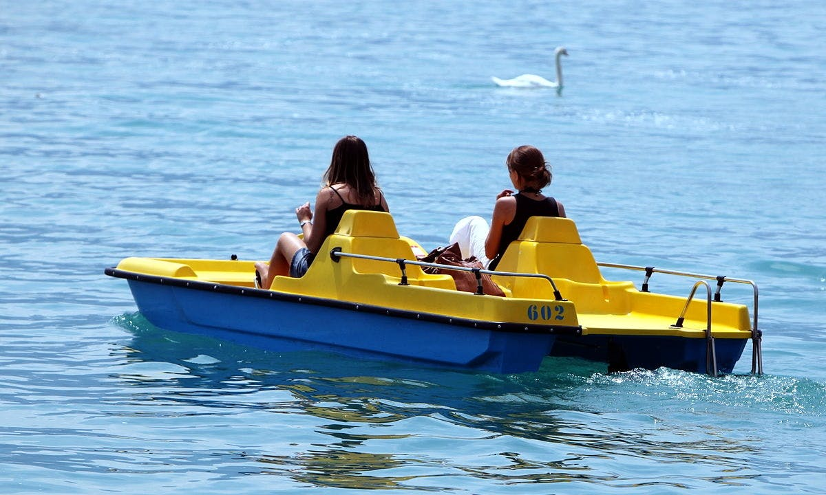Rent a Paddle Boat in Wien, Austria