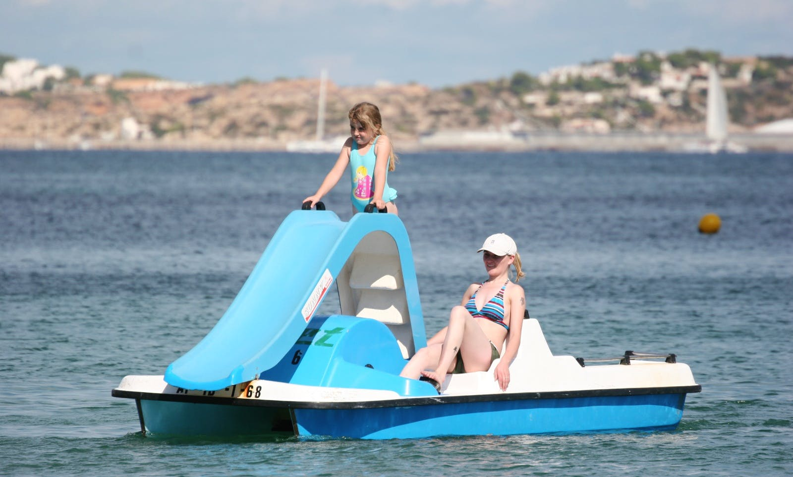 Rent a Paddle Boat With Slide in Wien, Austria