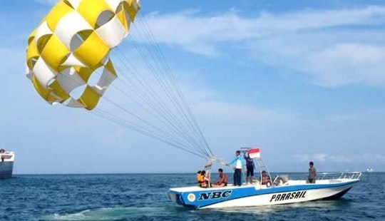 Enjoy Nusa Dua, Bali, Indonesia On A Parasailing Adventure