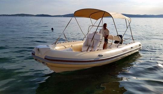 Rent 20'  Wav Marine Proline 620 Rigid Inflatable Boat In Bibinje, Zadar