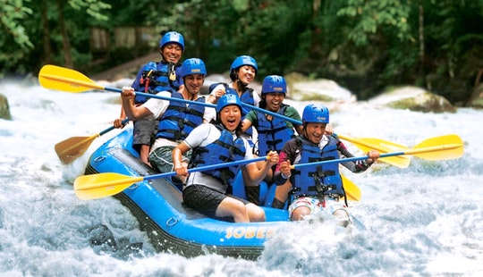 Enjoy Rafting In Nusa Dua, Bali, Indonesia