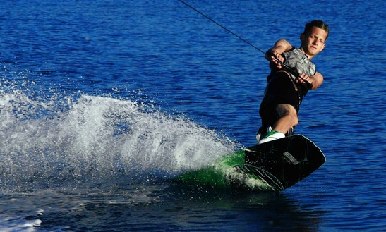 Wakeboarding In Paros