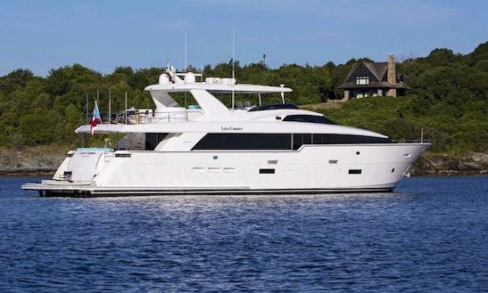 Power Mega Yacht Rental In The Bahamas