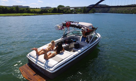 Austin's Top Rated Rentals! 24ft Supra Wakeboard/ Surf Boat
