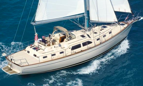 Enjoy Sunset Cruise On 46' Hunter Cruising Monohull In Monterey, California