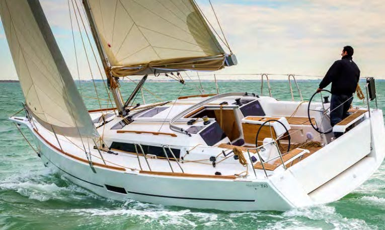Charter 33' Dufour 350 Grand Large Cruising Monohull in Punta Ala, Italy