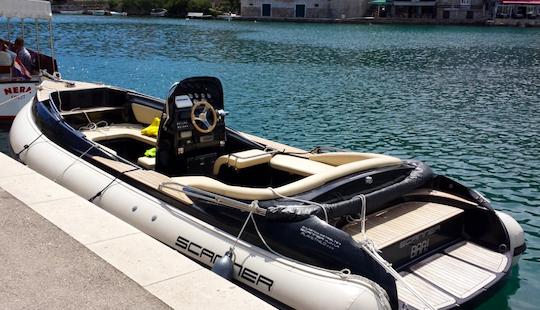 Charter 24' Scanner Envy Rigid Inflatable Boat In Split, Croatia