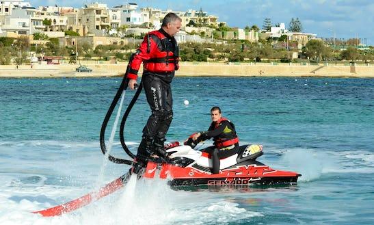 Enjoy Jetpacking In Birkirkara, Malta