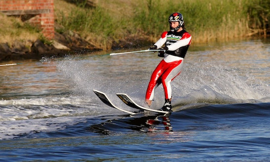 Enjoy Water Skiing In Nova Sela, Croatia