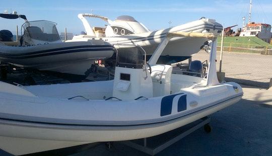 Rent 28' Gommone Rigid Inflatable Boat In Marsala, Sicilia