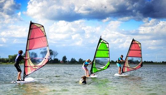 Enjoy Windsurfing In Wągrowiec, Poland