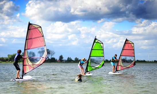 Enjoy Windsurfing In Wągrowiec, Poland