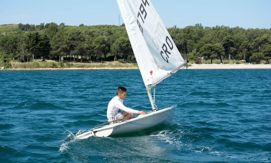 Rent 14' Laser Sailing Dinghy In Medulin, Croatia