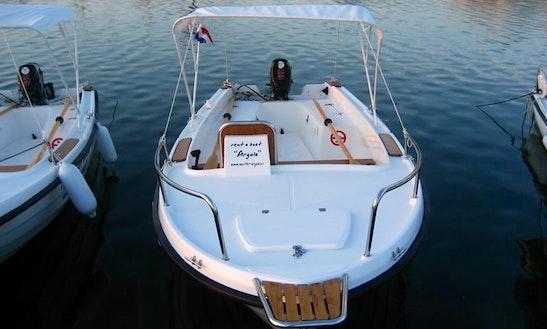 Rent 16' Nautica 500 Dinghy In Murter, Croatia