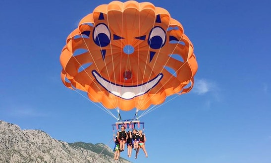 Enjoy Parasailing In Igrane, Croatia