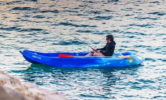 Enjoy Kayak Fishing In Starigrad, Rovanjska, Croatia