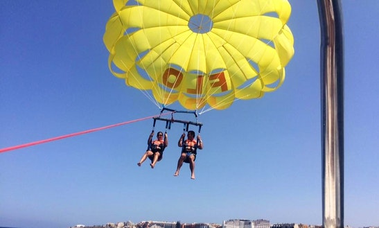 Enjoy Double Parasailing In San Pawl Il-baħar, Malta