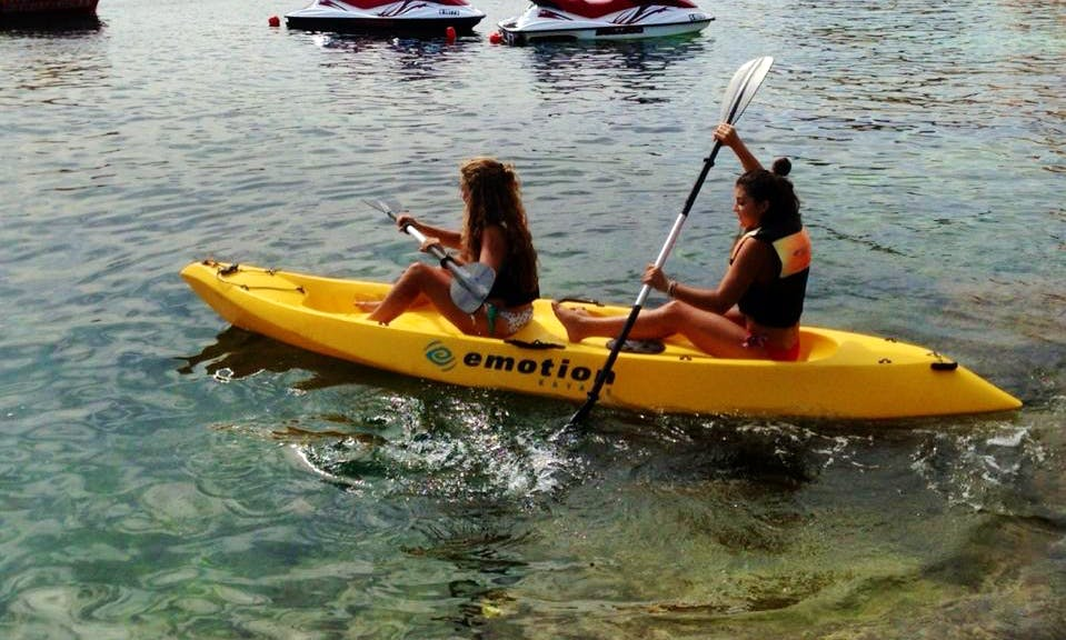 Rent a Double Kayak in San Pawl il-Baħar, Malta