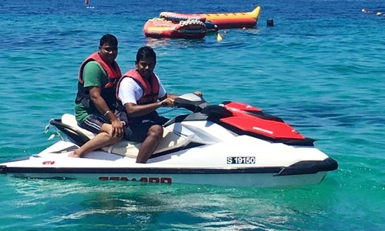 Lifevests Include On Our Jet Ski Rides In San Pawl Il-baħar, Malta