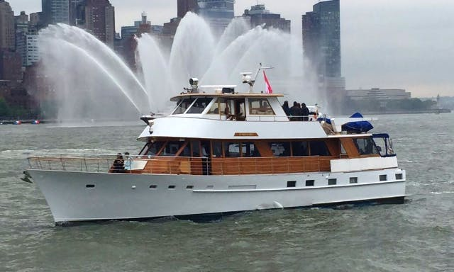 1973 Classic Stephens Motor Yacht Charter in New York