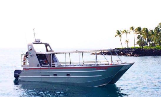 Enjoy Private Tour On Power Catamaran In Kailua-kona, Hawaii