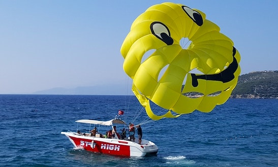 See The Turkish Coastline Like Never Before While Parasailing In Aydın