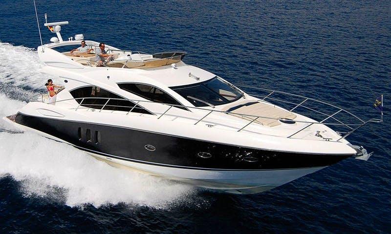 Charter 58' Sunseeker Manhattan 52 Power Mega Yacht in Mallorca, Spain