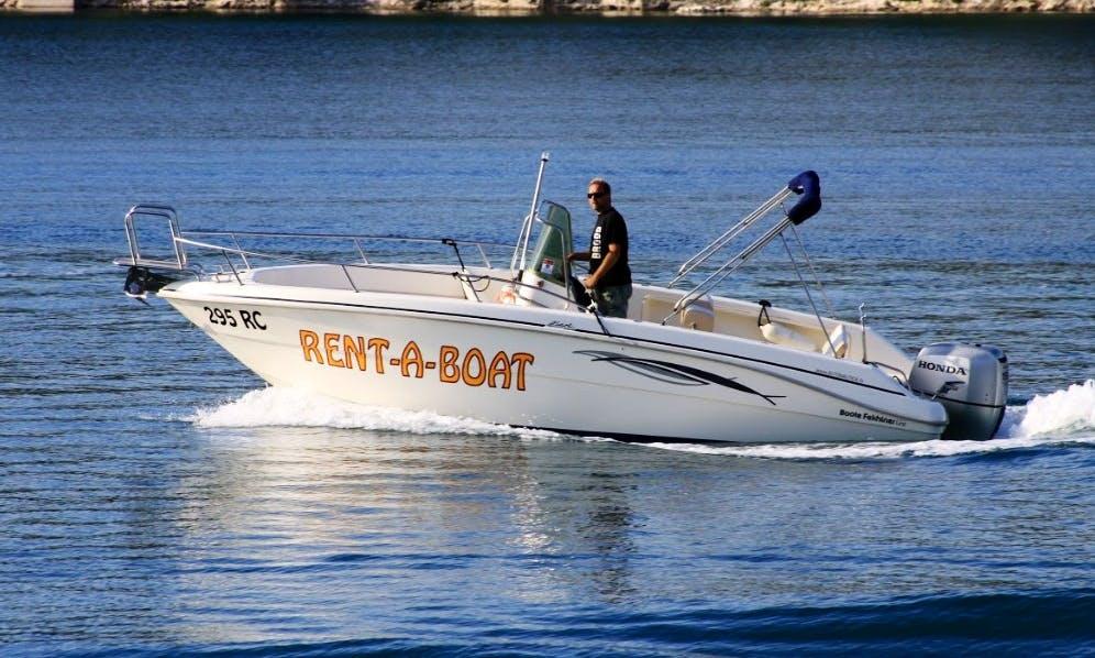 Rent the 22' Fiart Oasi Power Boat in Rabac, Croatia