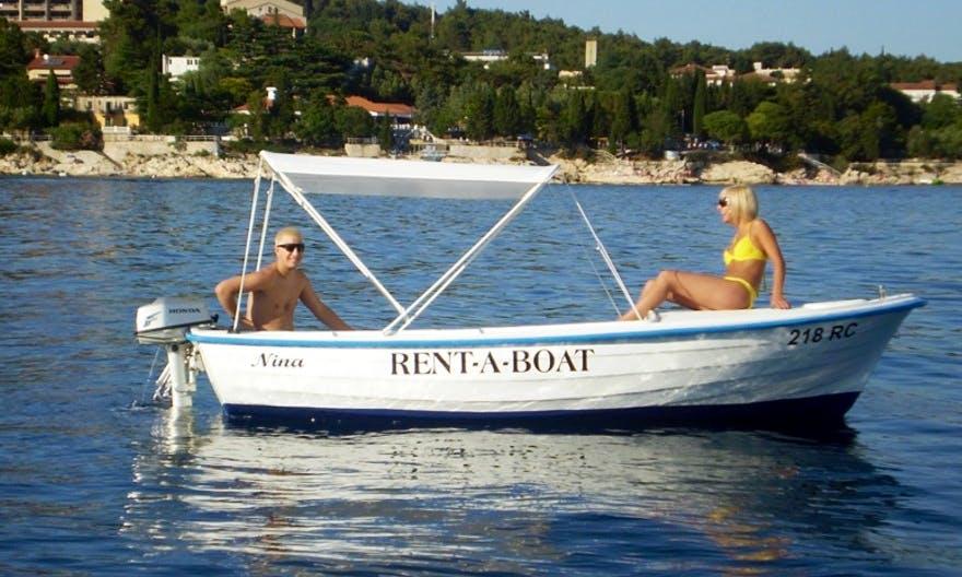 Power Boat Rental in Rabac, Croatia