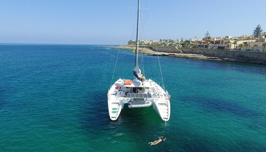Rent A Cruising Catamaran In San Ġiljan, Malta
