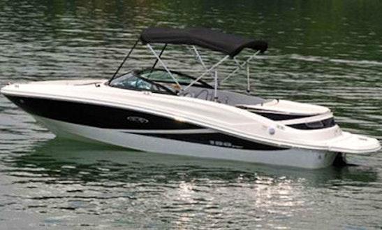 Deck Boat Rental In Grimaud