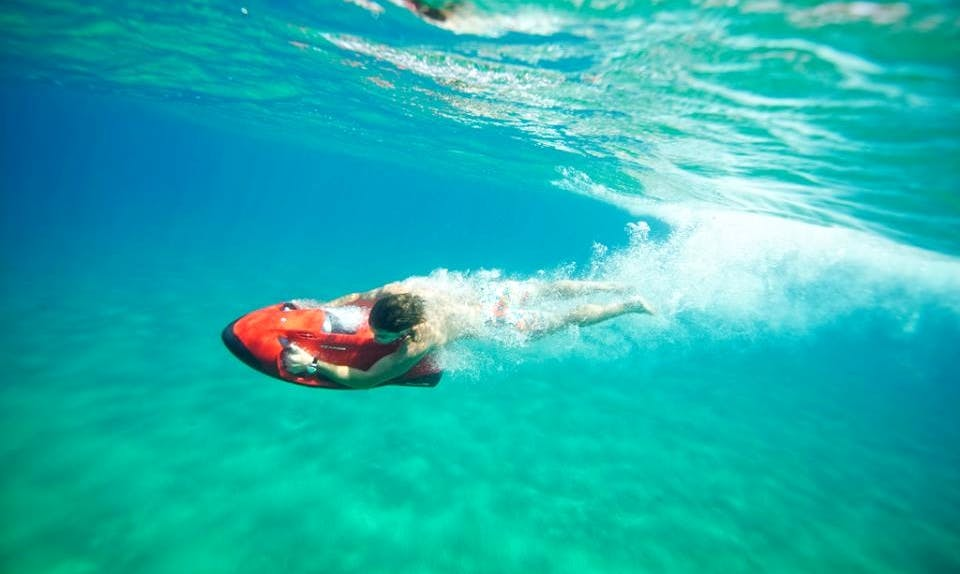 Enjoy Seabob in San Ġiljan, Malta