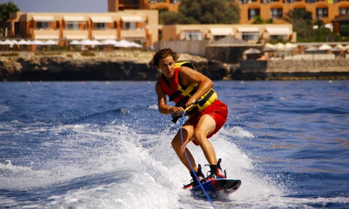 Try Wakeboarding in San Ġiljan, Malta