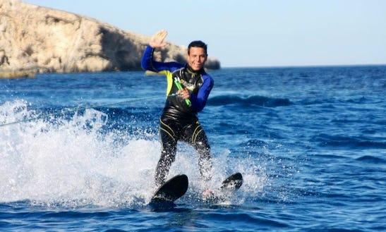 Try Water Skiing In San Ġiljan, Malta