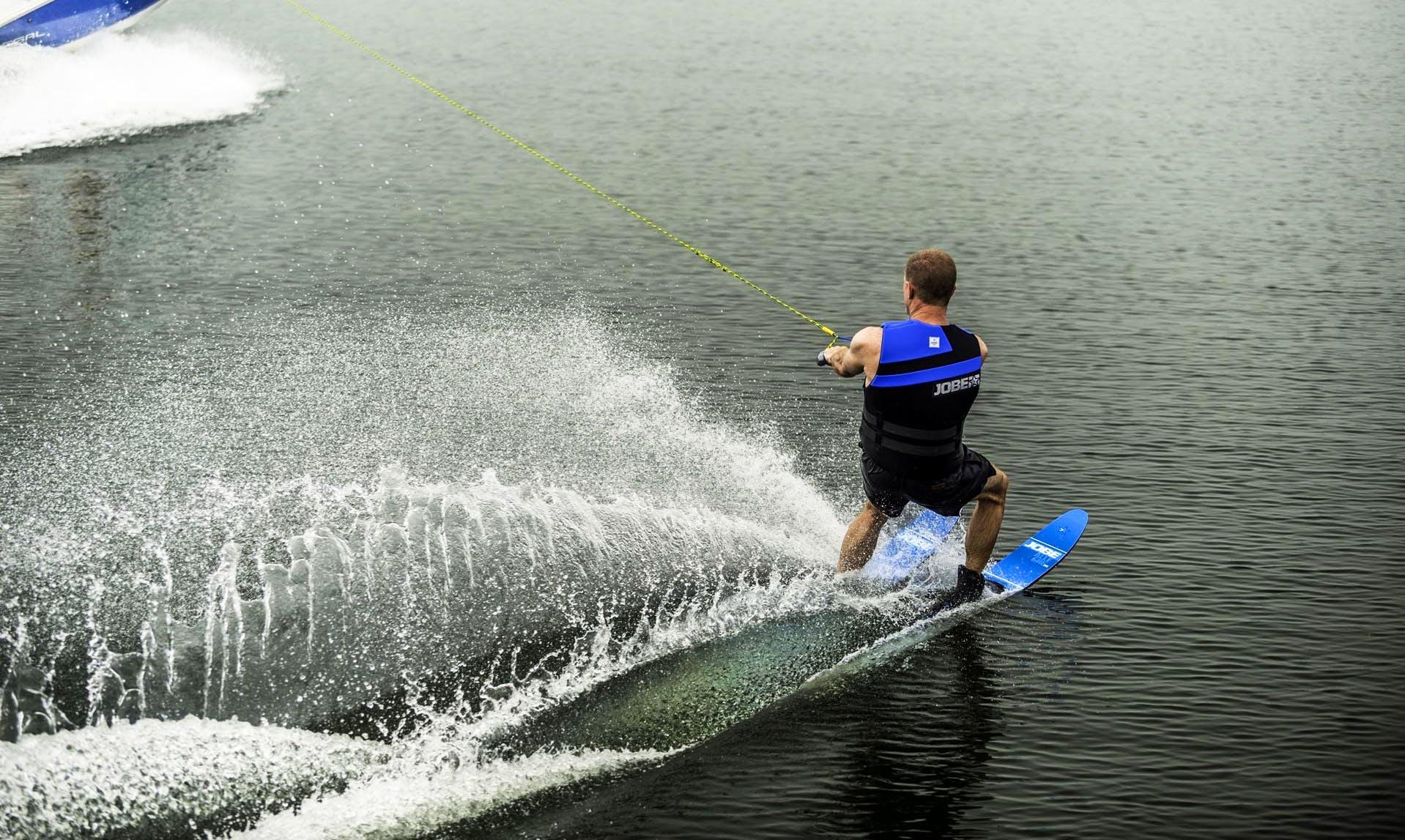 Enjoy Water Skiing in Vonyarcvashegy, Hungary