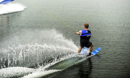 Enjoy Water Skiing In Vonyarcvashegy, Hungary