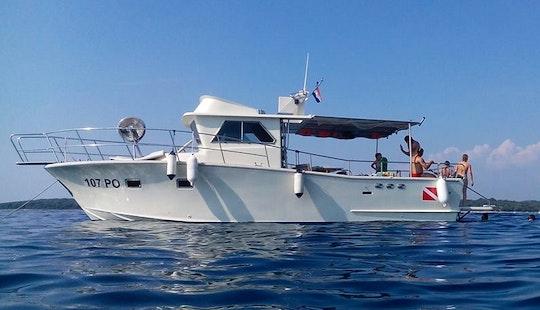 Enjoy Fishing In Vrsar, Croatia On Trawler