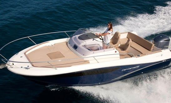 Rent 25' Jeanneau Cap Camarat 755 Motor Yacht In Dubrovnik, Croatia