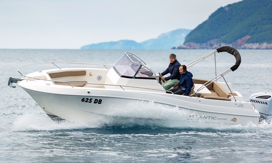 Rent 25' Atlantic Open 750 Center Console In Dubrovnik, Croatia
