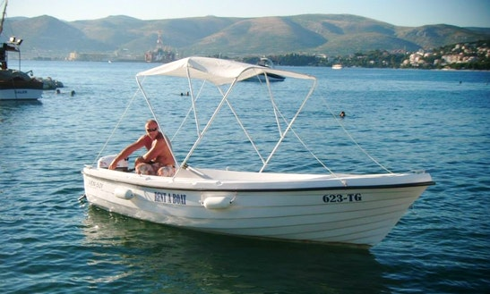 Rent A Dinghy In Okrug Gornji, Croatia