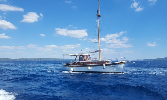 Sailing Charter On 41' Leut Gulet In Zadar, Croatia