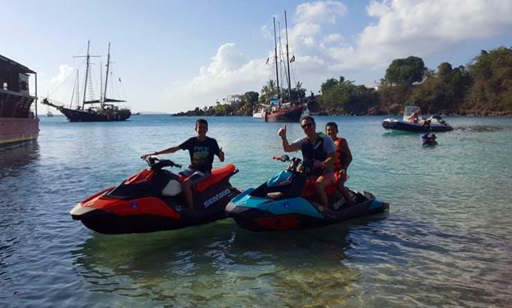 Jet Ski Rental In St. Thomas, U.S. Virgin Islands