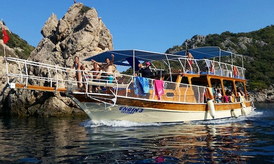 Enjoy Boat Trips In Antalya, Turkey On Passenger Boat