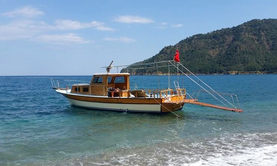 Departing From Spinola Bay - Fishing In Antalya, Turkey