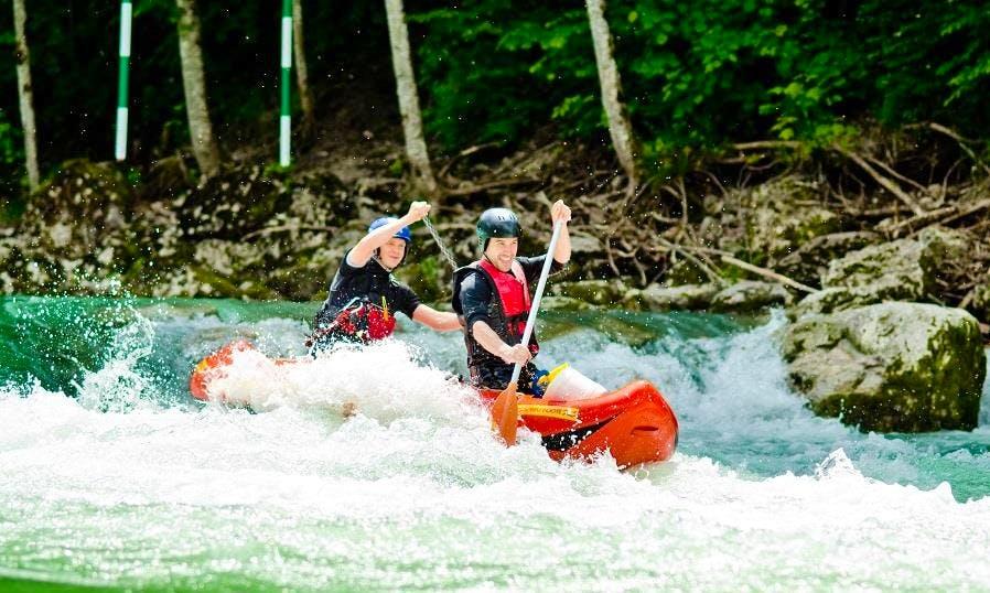 Enjou Mini Rafting Trips in Reichenau an der Rax, Austria
