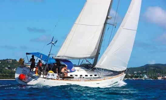 Charter 47' Sunrise Cruising Monohull In Sainte-anne Le Marin, Martinique
