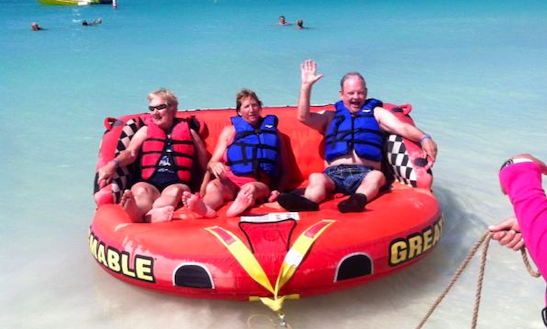 Enjoy Sofa Rides At Eagle Beach In Noord, Aruba