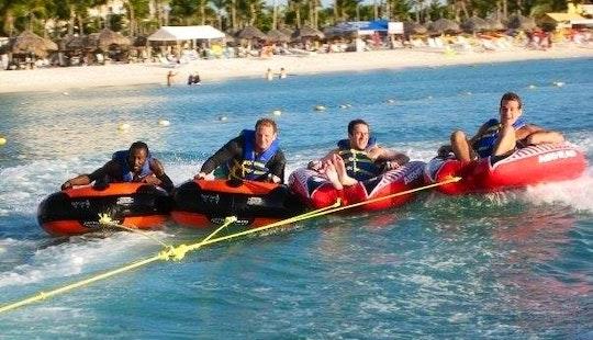 Enjoy Tubing At Eagle Beach In Noord, Aruba