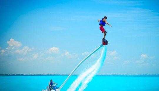 Enjoy Flyboarding At Eagle Beach In Noord, Aruba
